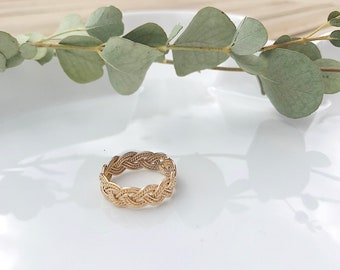 CLAUDE gold plated ring