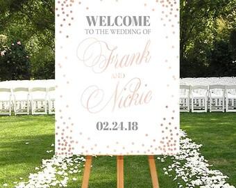 Wedding Welcome Printable, Blush Pink Wedding Sign, DIGITAL wedding sign, Pink Wedding Sign, Welcome Sign Pink, Blush Wedding Decor