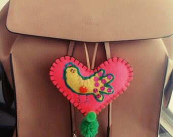 Beautiful hearts made with love
