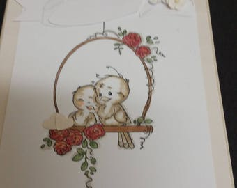 Hand made Bridal Shower Card