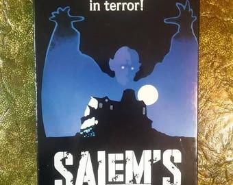 salem's lot vhs//stephen king//warner bros.//horror vhs//1979