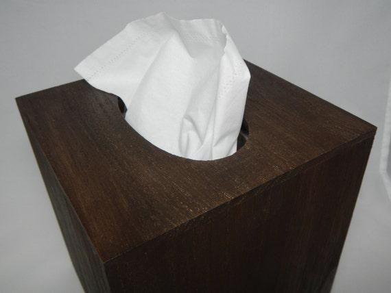 Tissue Klennex box cover - RuStiC - Crate & Barrel