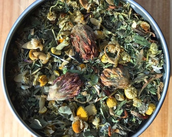 Fertility Tea - Organic Herbal Tea - Helps nourish and strengthen the reproductive system