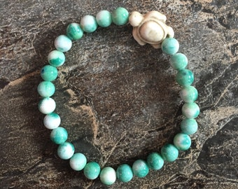 Mint Sea Turtle Bracelet