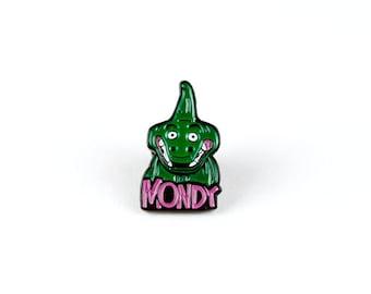 Mondy Sea Monster/Captain Chesapeake Enamel Pin