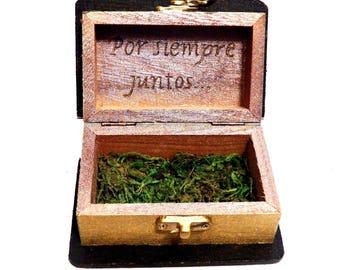 Ring Box, Wedding Ring Box, Personalized Wedding Ring Box, Wedding Bride Box, Gift Couple Box, Custom Ring Box Gift, Wedding Book Box