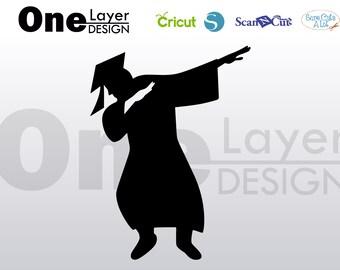 Graduation men dab SVG - Png- Eps - Pdf File, T-Shirt SVG, svg -Vector Art Commercial & Personal Use- Cricut,Silhouette,Cameo,Iron on Vinyl