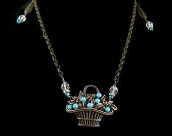 Basket Necklace, N0126