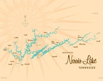 Norris lake Etsy