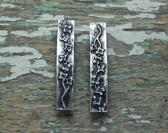 Cherry Blossom pair of barrettes
