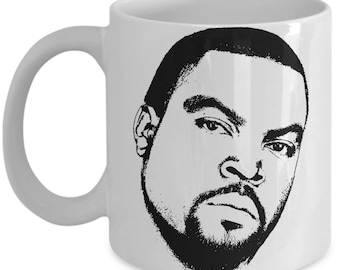 Ice Cube Inspired Coffee Mug - Music Hip-hop Rap Gift - Funny Hip Hop Tea Cup