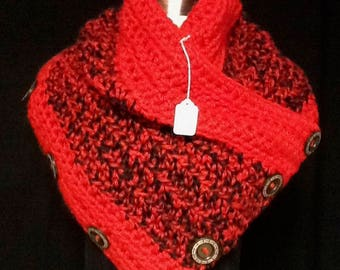 Red and Black Cowl
