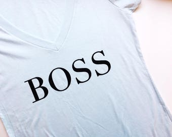 Boss, Girl Boss, girl empowerment, inspirational tee, boss tee, boss gift, boss, boss lady, christmas gift, birthday gift, girl power