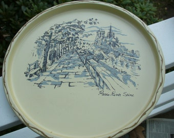 Vintage Paris Tray
