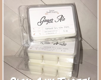 PICK ANY 3 Soy Wax Melts Sampler, Scented Wax Melts, Hand Poured Wax Melts, Soy Wax Tarts, Handmade Wax Melts, Soy Wax Melts Gift Set