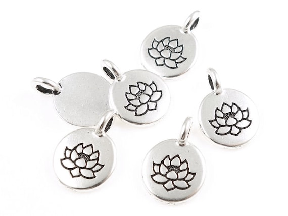 Tiny lotus pendants tierracast lotus charm antique silver charm zen tiny lotus pendants tierracast lotus charm antique silver charm zen buddhist yoga charms pendant for mindfulness meditation jewelry p1218 from mozeypictures Images