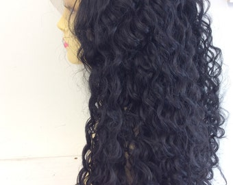 lace front long  deep curl synthetic wig (24)