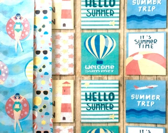Hello Summer! Edible Wafer Designs