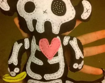 Skele-Critters: Monkey