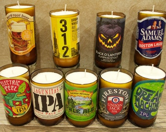 Specialty Beer Bottle Candles (Great for Every Beer Lover!)