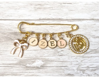 Pin personalized brooch