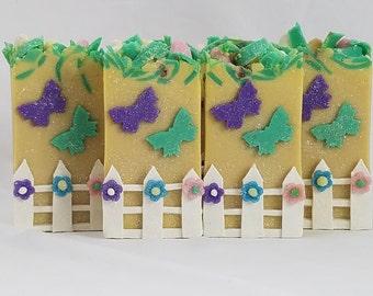Lil' Miss Egg-Stravagance Soap|Artisan Soap|Goat Milk Soap|Handmade Soap|Kids Soap|Girl Soap|Aromatherapy Soap|Luxury Soap