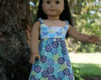 Butterfly Maxi Dress and Bralette for American Girl Doll