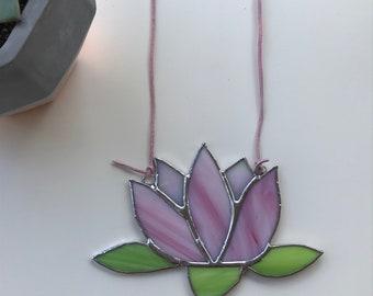 Lotus flower suncatcher