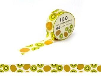 Masking Tape / Washi Tape / Deco Tape - 15mm - Kiwis