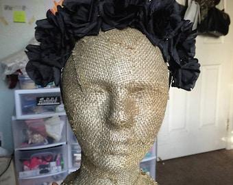 Goth Flower Crown