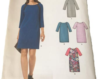 New Look dress pattern size 10-22