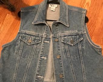 Retro Denim Jean Vest New York Jeans
