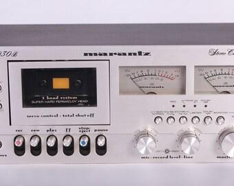 RARE Vintage Marantz 5030B 3 Head Cassette Deck Player - Does Not Rewind