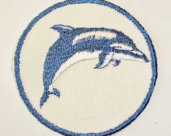 Iron-On Patch - DOLPHIN 2