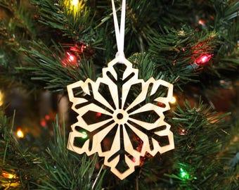 Ornament - Snowflake (B) - Ash