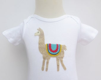 Llama Onesie or Toddler Shirt
