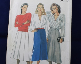 Woman's Skirt Pattern in Size 18-26 - New Look 6819