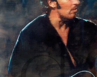 Bruce Springsteen - Limited Edition Giclee Print 16 x 20