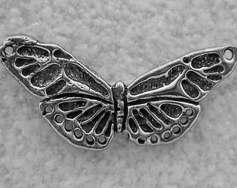 Green Girl Studios Pewter Butterfly Center Piece
