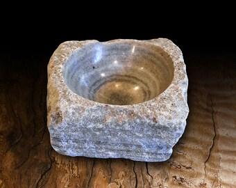 Limestone small bowl