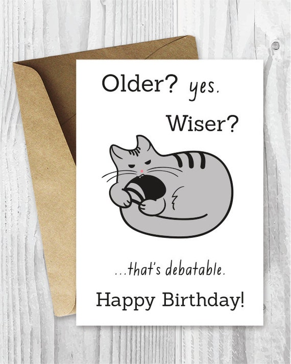 Obsessed image with free printable funny birthday cards