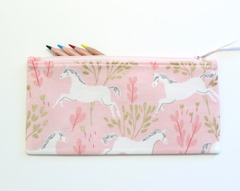 Kids pencil case - pencil pouch - pencil bag - small zipper pouch - kids purse - toddler gift - kids travel gift - ready to ship