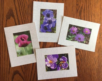 Flower Photo Cards
