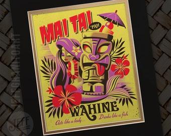 Mai Tai Pha Wahine Print