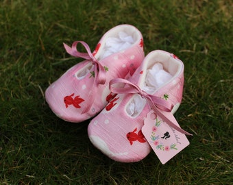 Japanese fish Baby shoes - Several Sizes