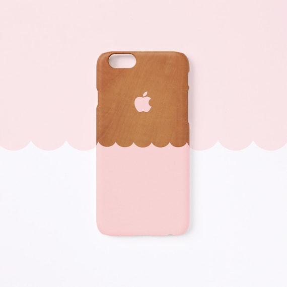 coque iphone 7 bois rose