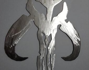 """10"""" Mandalorian skull"""