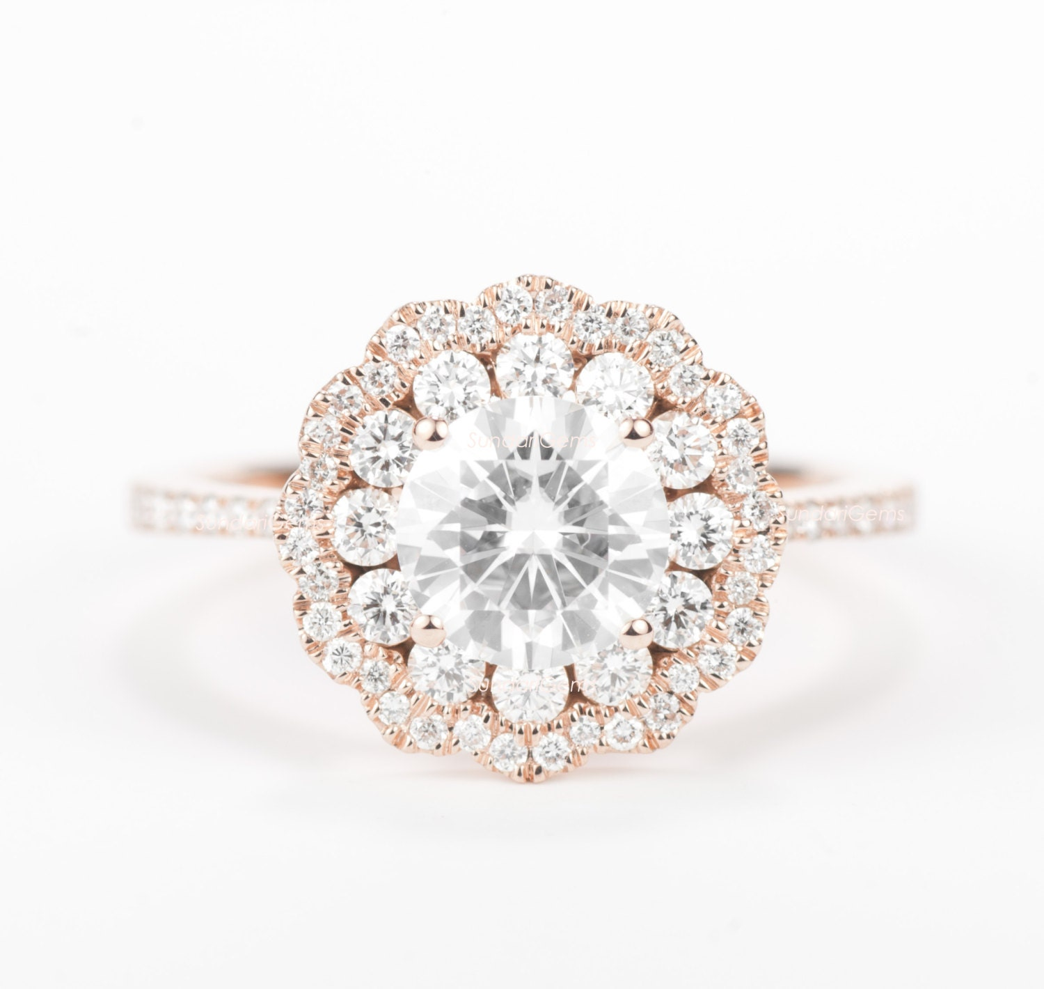 CERTIFIED Colorless Forever ONE Round Brilliant Moissanite