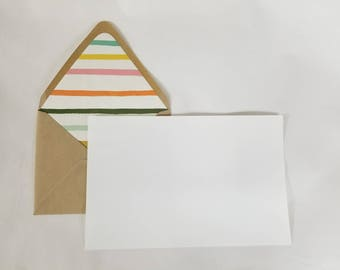 Writing Set with Lined Envelope