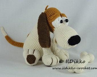Amigurumi Crochet Pattern - Butch the Basset - English Version
